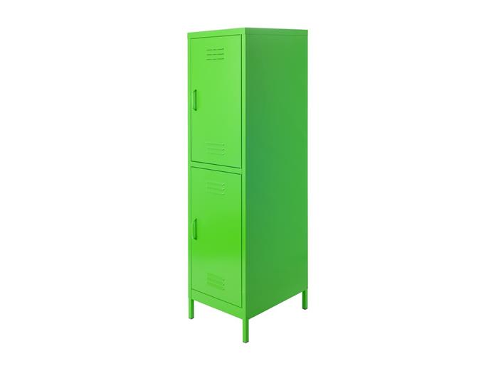 "Mocka Locka in green, $139.95, from [Mocka](https://www.mocka.com.au/mocka-locka-double-coloured.html|target=""_blank""