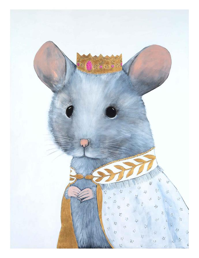 "Cat Lee 'Mia Mouse' **art print**, $99 for A3 unframed, from [Unclebearskin Productions](https://unclebearskin.com/fine-art-prints/limited-edition-holy-by-cat-lee-dsash-tmp3p-43aer?category=Cat+Lee+Limited+Edition|target=""_blank""
