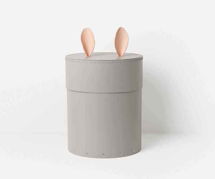 "Ferm Living rabbit **storage box**, $149, from [DesignStuff](https://www.designstuff.com.au/ferm-living-rabbit-storage-box/|target=""_blank""