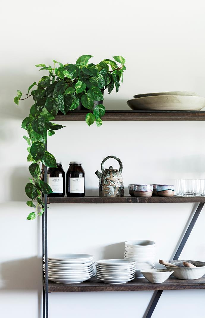 "**Rearrange your kitchen:** [Open shelves](https://www.homestolove.com.au/open-shelving-kitchen-16950|target=""_blank"") aren't for everyone – especially if you're not a big fan of dusting – but they can offer you the flexibility to change your kitchen's look by moving display items around. They won't visually weigh down your kitchen, plus items you use every day are always close at hand."