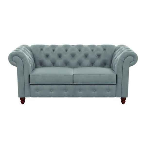 "'Carlotta' sofa in sky blue velvet-feel fabric, $499, from [Fantastic Furniture](https://www.fantasticfurniture.com.au/Categories/Sofas-%26-Armchairs/Sofas/Carlotta-Sofa/p/CTASOF2STOOOPLRSHA|target=""_blank""