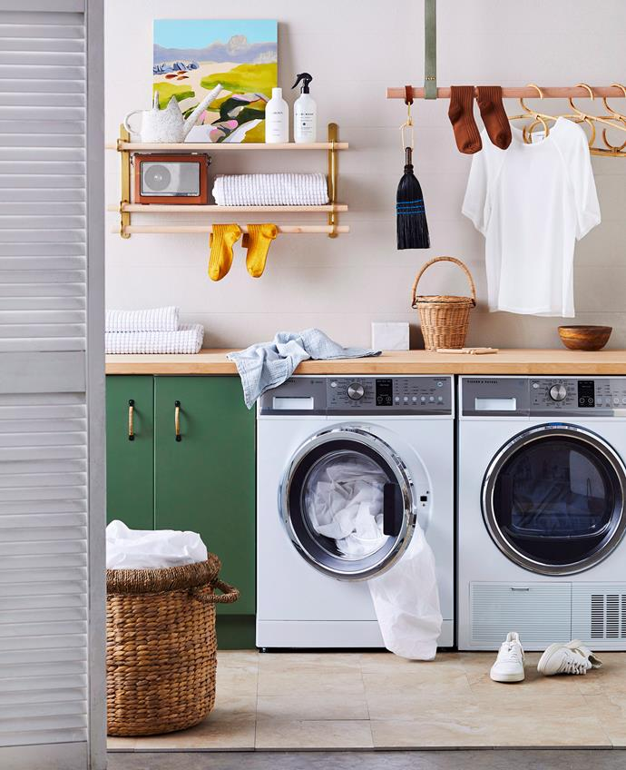 Prevent mould growth by keeping the door or lid of your washing machine open in between use.
