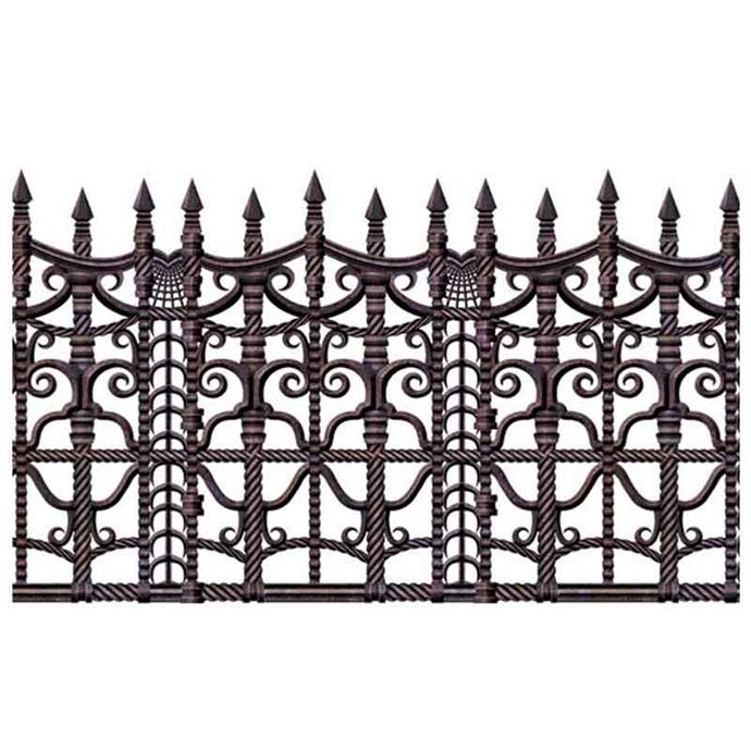 "Creepy **fence** border (9.1 metres), $20.99, from [Costume Box](https://fave.co/32mCNwo|target=""_blank""