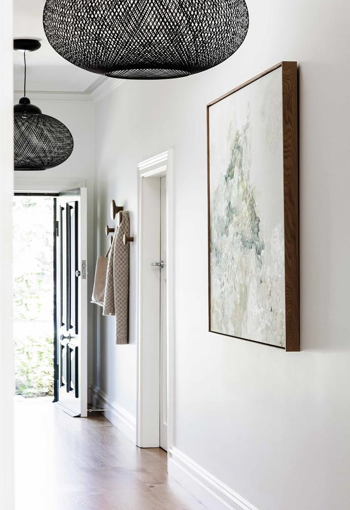 "**Entry** Inside the hall, the walls are [Dulux](https://www.dulux.com.au/|target=""_blank""