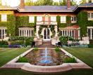 A verdant formal garden by Paul Bangay