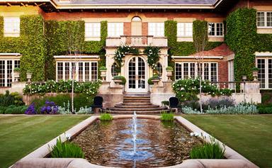 A verdant formal garden by Paul Bangay
