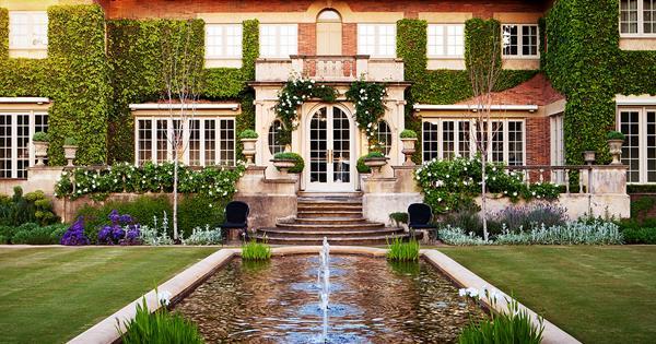 A Verdant Formal Garden By Paul Bangay Flipboard
