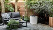 A new garden patio transformed a compact backyard