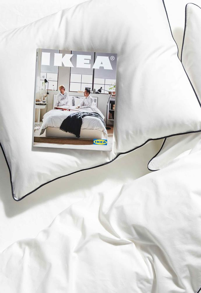 The IKEA catalogue is available to be picked up in store, or can be ordered online.