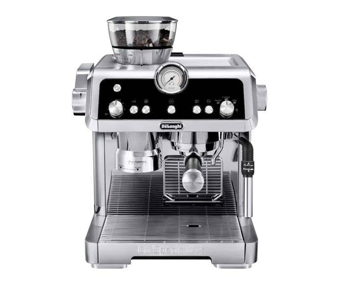 "De'Longhi La Specialista dual-pump manual coffee machine, $949, [The Good Guys](https://www.thegoodguys.com.au/|target=""_blank""|rel=""nofollow"")."