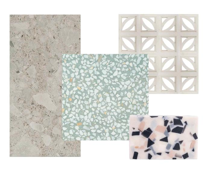 "**Get the look** (from left) Timeless Ceppo Gris tile from [Beaumont Tiles](https://www.beaumont-tiles.com.au/|target=""_blank""