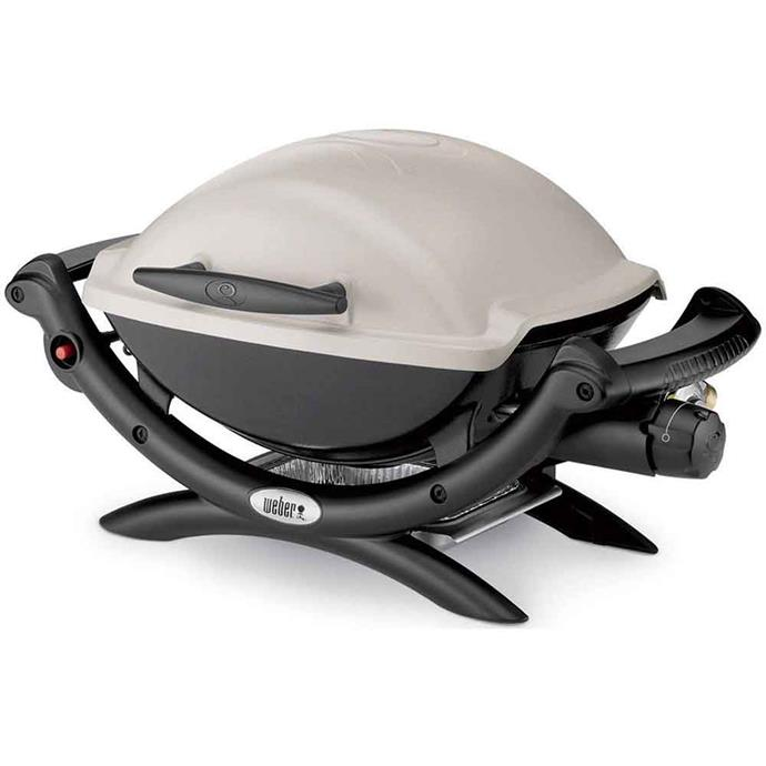 BBQ Weber Q1000 **portable gas barbecue**, $349.