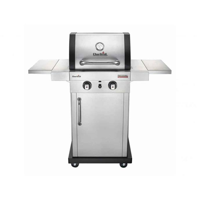 """Char-Broil 'Professional' 2-burner stainless steel **barbecue**, $699, from [Harvey Norman](https://www.harveynorman.com.au/char-broil-professional-2-burner-bbq-silver.html