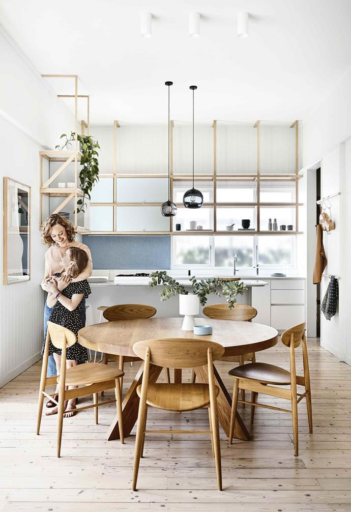 "Initially, the couple thought they'd have to extend, but Pleysier Perkins proposed alternative ideas for how to rethink the space, and the renovation remained within the existing footprint. ""Jane and Jamie made a decision not to move to a house with a [bigger garden](https://www.homestolove.com.au/garden-design-styles-19942