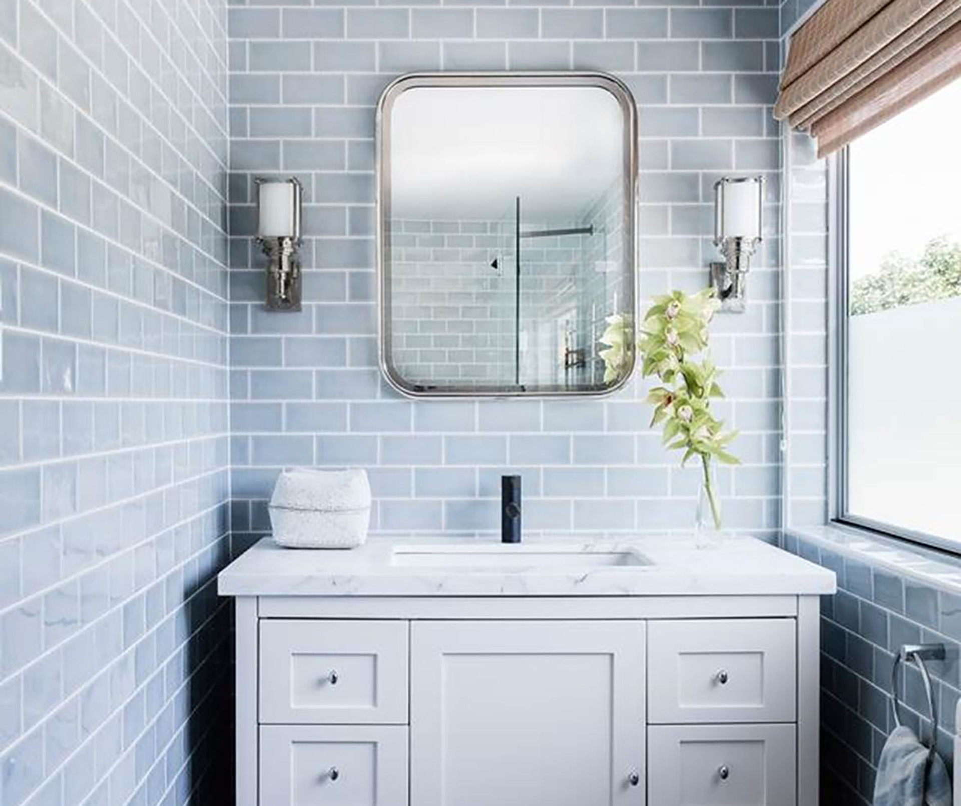 8 beautiful blue bathroom design ideas | Australian House and Garden