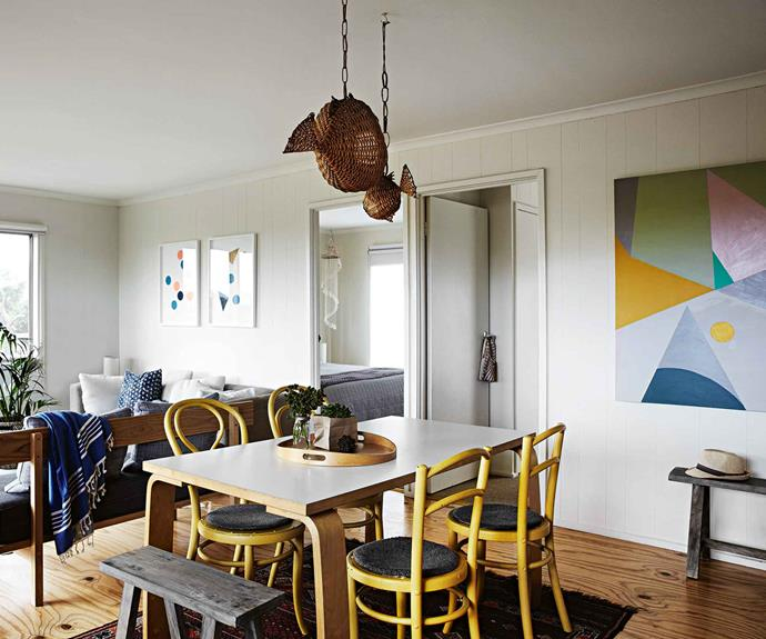 Tour a beach house in Victoria filled with colourful art prints | Country Style