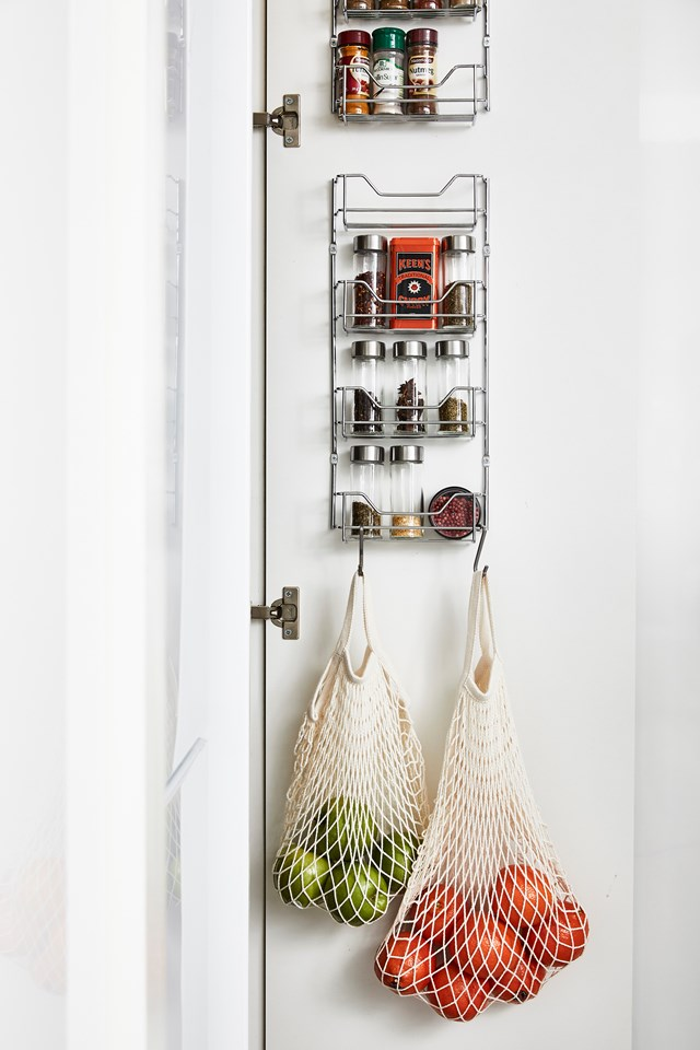"Keep your pantry organised and your kitchen cupboards in shape with these [simple storage hacks >](https://www.homestolove.com.au/tips-for-organising-your-pantry-3461|target=""_blank"")."