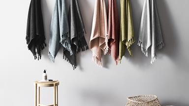 10 beautiful bath towels to shop now