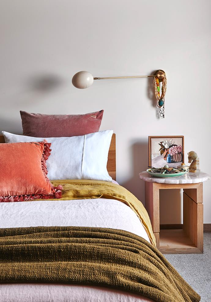 Consider investing in a pillow made from a cooling material for a better night's sleep throughout summer. *Photo: Nikcole Ramsay / bauersyndication.com.au*