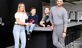 Inside Guy Sebastian's entertainer's kitchen