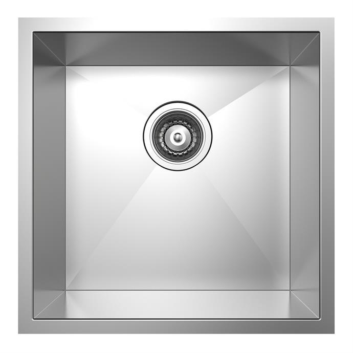 "'Rococo' square single bowl **sink** by Mondella, $219, from [Bunnings](https://www.bunnings.com.au/mondella-rococo-square-single-bowl-sink_p5090443|target=""_blank""|rel=""nofollow"")"
