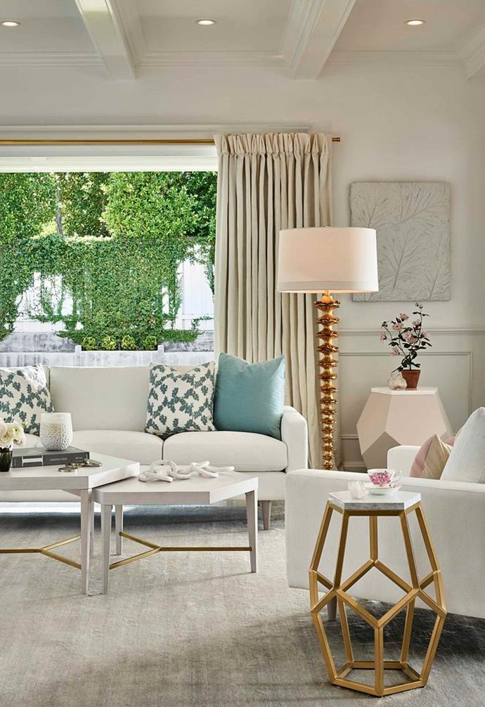 "The layered coffee tables make a striking visual statement. *Image: [Universal Furniture / Miranda Kerr Home](https://www.universalfurniture.com/mirandakerrhome|target=""_blank""