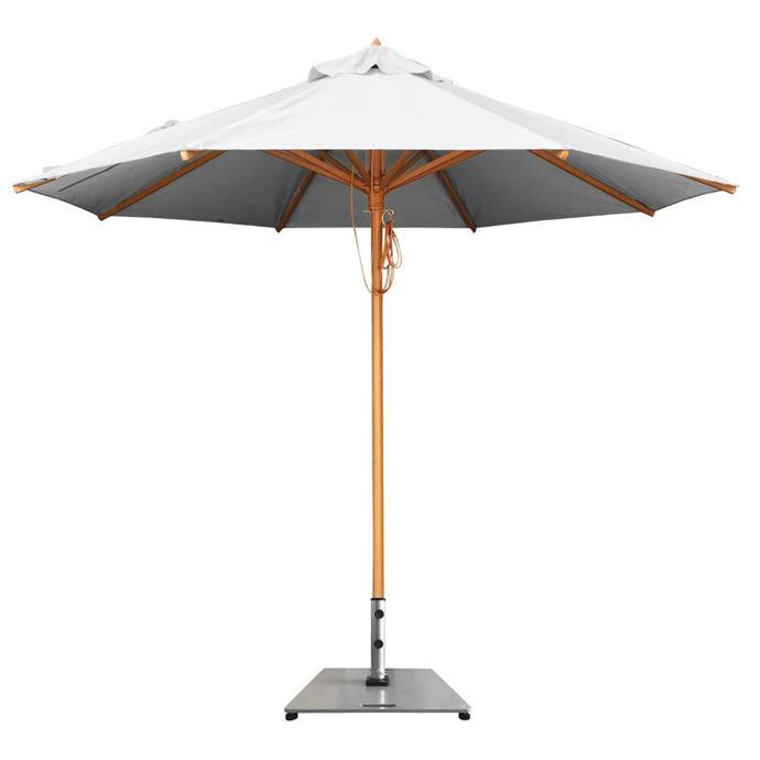 "FibreSun Fibreglass Umbrella, from $295, [Shade Australia](https://www.shadeaustralia.com.au/umbrellas/fibresun-umbrellas|target=""_blank""|rel=""nofollow"")"