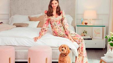 Miranda Kerr's new furniture range is as chic as you'd expect