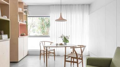 A small apartment in Potts Point was given a clever renovation