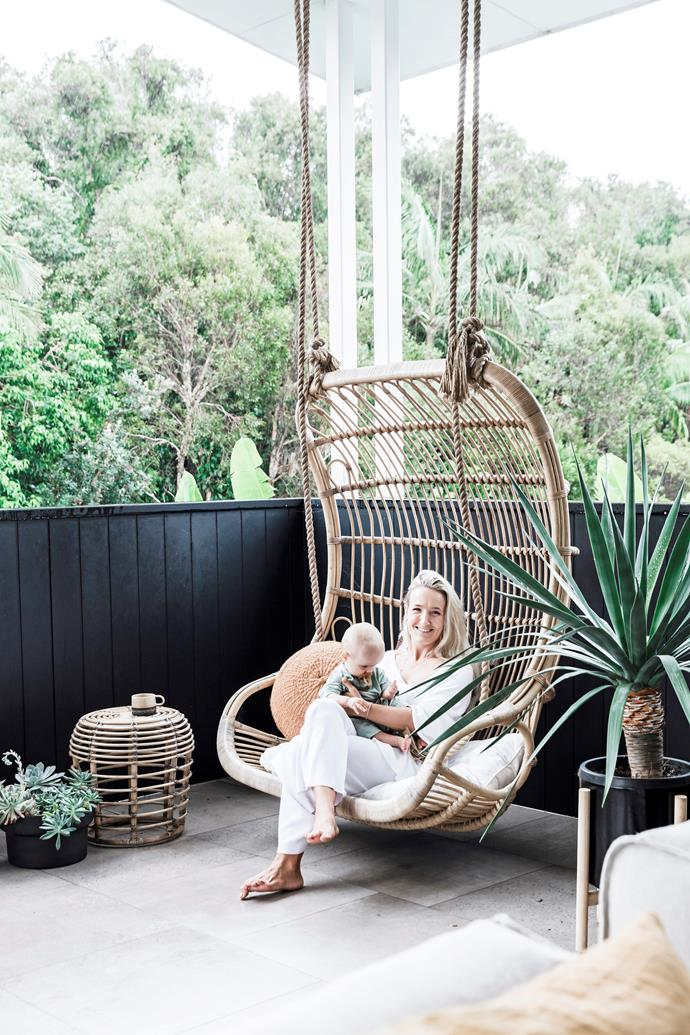 "For eternal summer vibes and a hint of nostalgia, you can't go past [wicker and rattan](https://www.homestolove.com.au/decorating-with-cane-and-wicker-furniture-4593|target=""_blank"") pieces. You'll find it woven into bedheads, stools, pendants, [hanging chairs](https://www.homestolove.com.au/hanging-chairs-outdoor-australia-19214