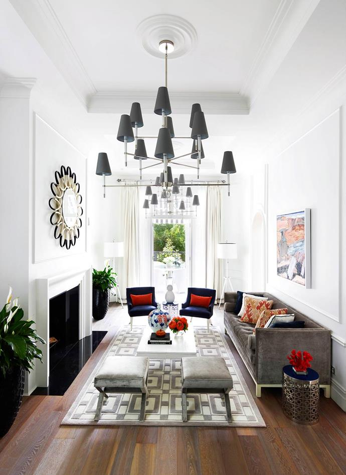 Owner Emma Forster-Mitrovski hired Greg Natale of Greg Natale Design to design the interiors opting for elements from her favourite styles: Art Deco, Hollywood Regency and early 20th-century French.