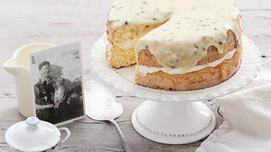 Heirloom recipe: Bill Bevan's passionfruit sponge cake