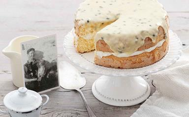 Heirloom recipe: Bill Bevan's passionfruit sponge cake