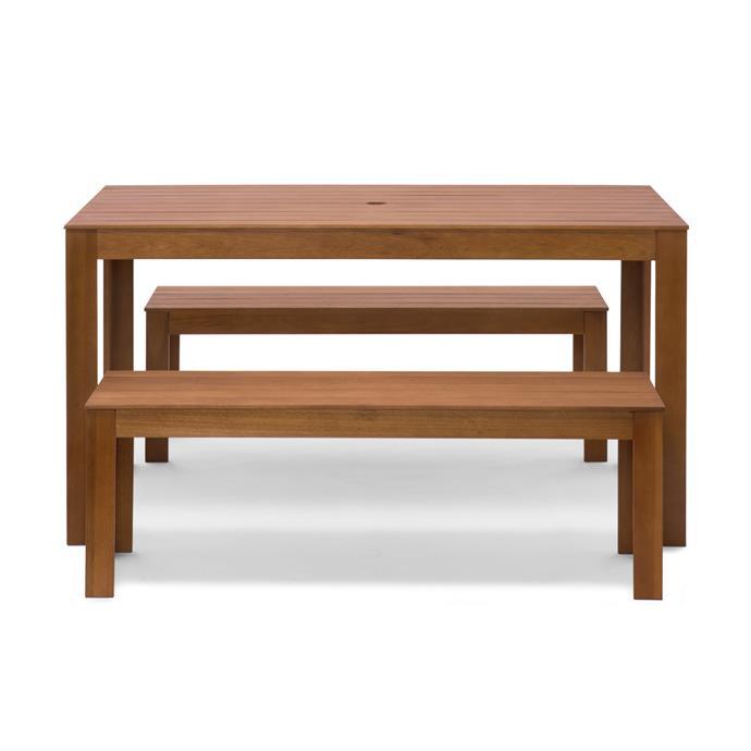 "[Timber Dining Set, $199](https://www.kmart.com.au/product/timber-dining-set---brown/2714313?cm_vc=PDPZ1 target=""_blank"" rel=""nofollow"")"