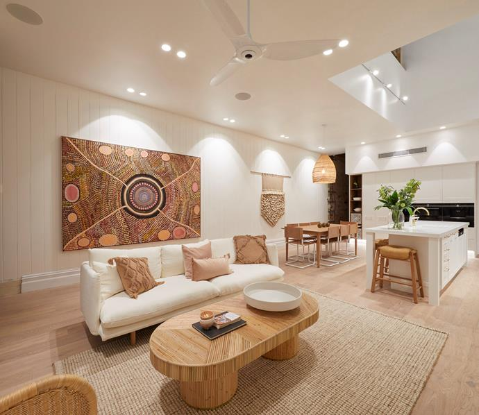 """**Andy and Deb - The Block 2019** <br></br> Andy and Deb may not have won [living and dining room week in 2019](https://www.homestolove.com.au/the-block-2019-living-and-dining-room-reveals-20694