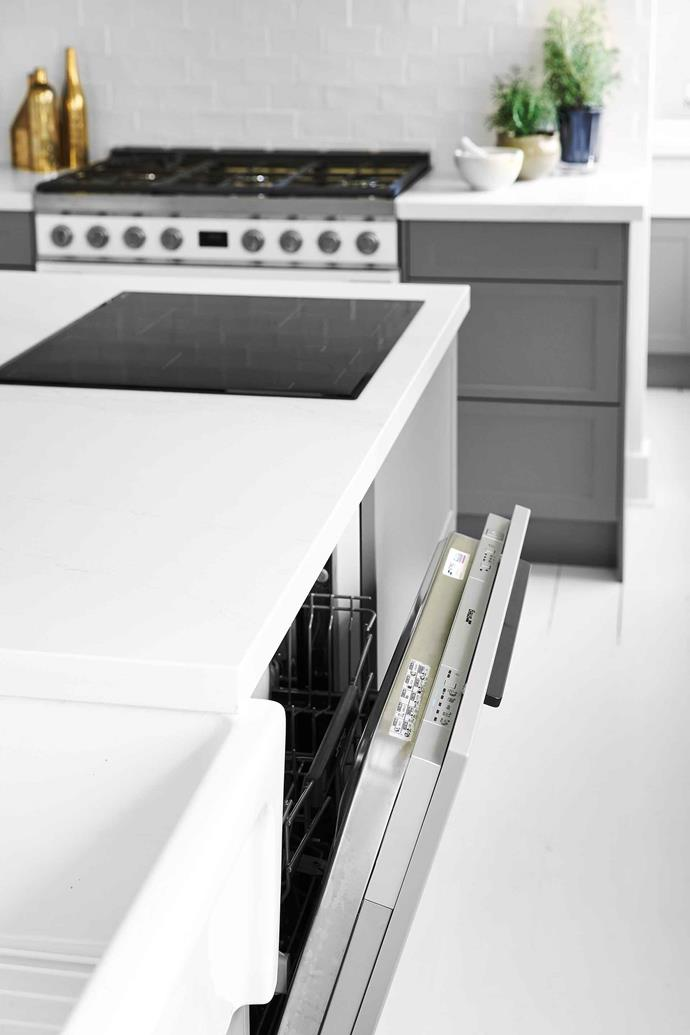 "New dishwasher models have a 'half load' function. The Block judge, Neale Whitaker, recently [renovated his kitchen](https://www.homestolove.com.au/neale-whitakers-country-kitchen-renovation-19789|target=""_blank"") which features two, fully-integrated dishwashers."
