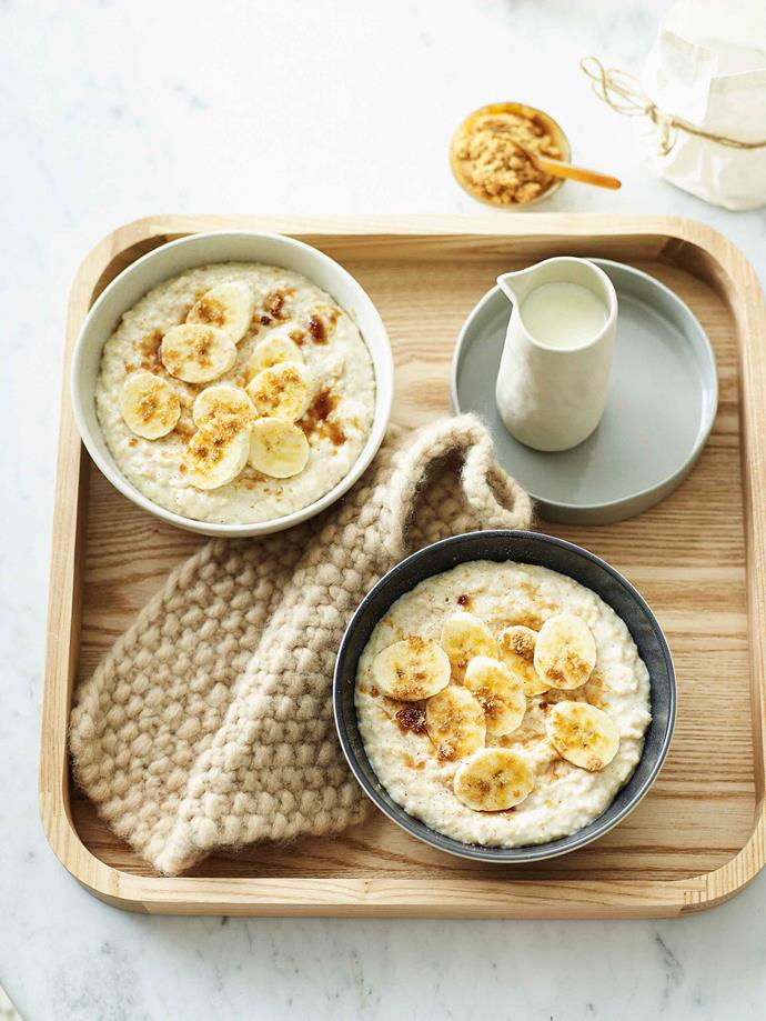 Quick oats are best for mornings on-the-go.