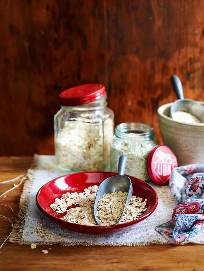 Rolled oats are a hearty breakfast that will keep you feeling full and energised throughout the day.