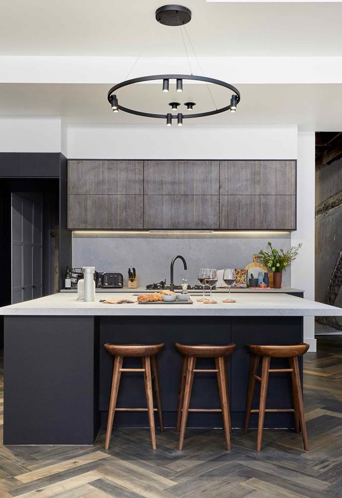 Tess and Luke's kitchen space.