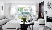 8 monochrome living rooms