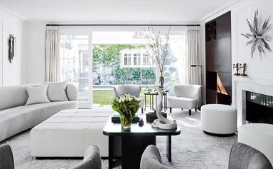 8 monochrome living rooms