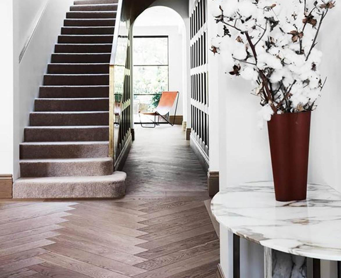 10 homes with timber herringbone floors | Homes To Love