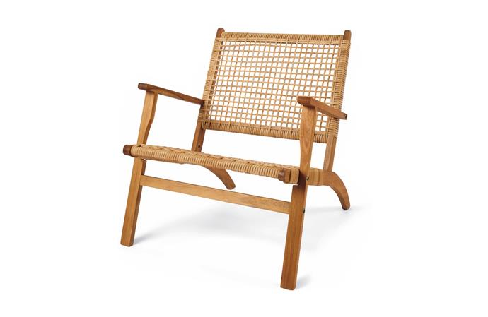 "Timber Occasional Chair, $49, at [Kmart](https://www.kmart.com.au/product/timber-occasional-chair/2287347|target=""_blank""