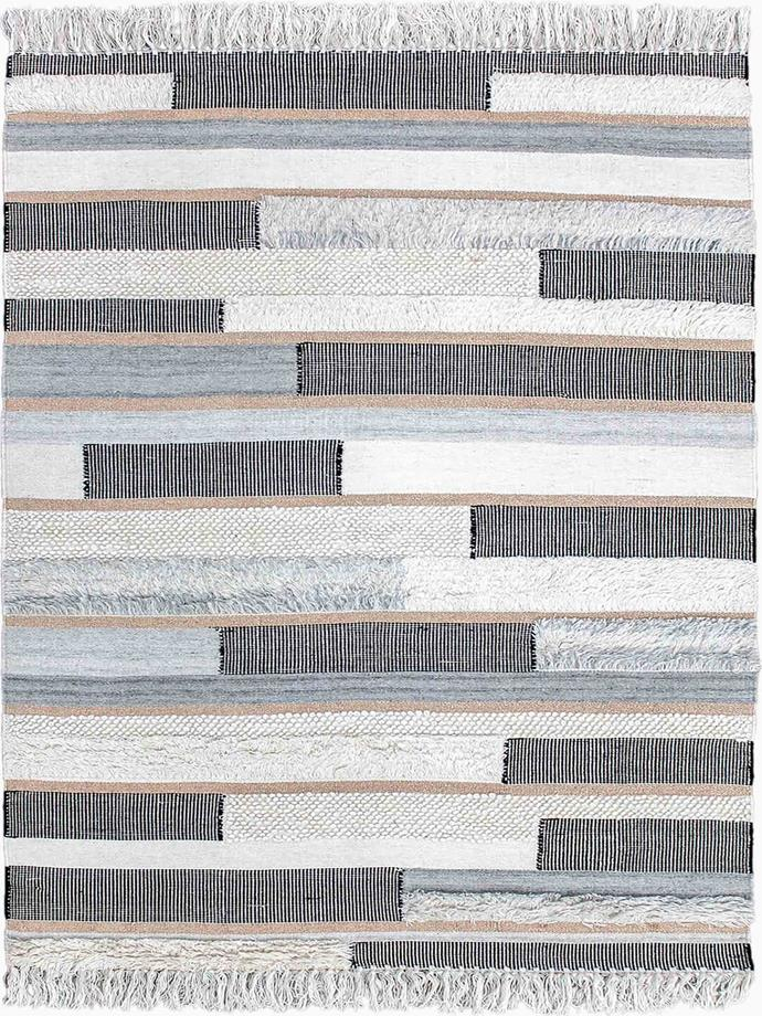"""'Kyoto' **rug** in rose gold, from $965, at [The Rug Collection](https://www.therugcollection.com.au/product/kyoto/