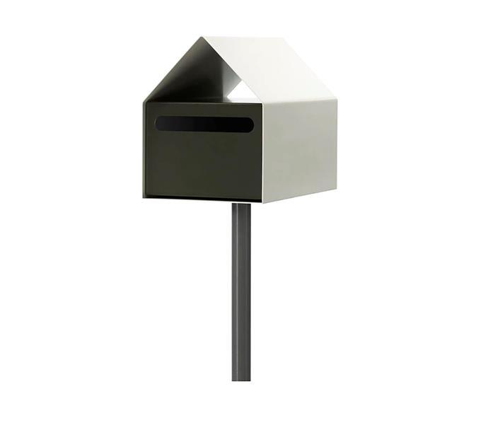 "Arko Colorbond letterbox, $350, at [Arko](https://www.arkofurniture.com.au/products/arko-letterbox-colorbond?variant=242495848492|target=""_blank""|rel=""nofollow"")"