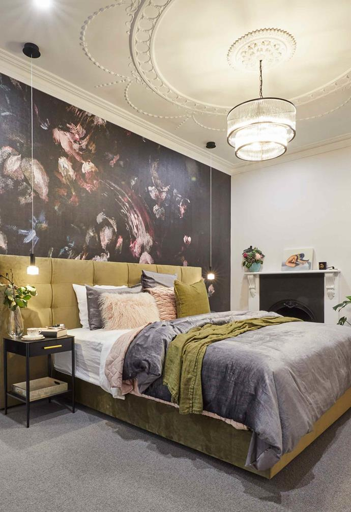 """**Week 3, Master Bedroom** In the [master bedroom](https://www.homestolove.com.au/the-block-2019-master-bedrooms-20583