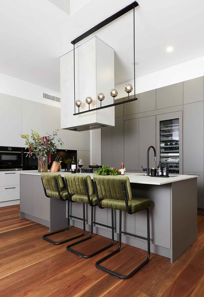 """**Week 7, Kitchen** Winning [formal living room week](https://www.homestolove.com.au/the-block-2019-formal-living-room-reveals-20570