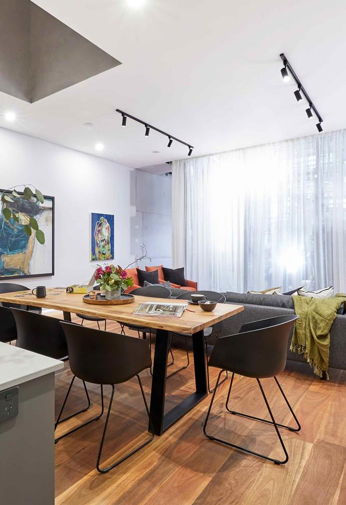 """**Week 8, Living and Dining** In [living and dining room week](https://www.homestolove.com.au/the-block-2019-living-and-dining-room-reveals-20694