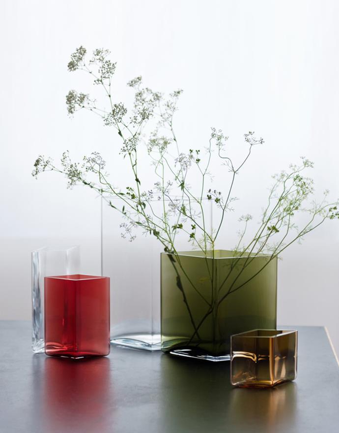 "Iittala Ruutu vases by Ronan and Erwan Bouroullec at [Finnish Design Shop](https://www.finnishdesignshop.com/decoration-vases-ruutu-vase-205-270-clear-p-9274.html|target=""_blank""|rel=""nofollow"")"