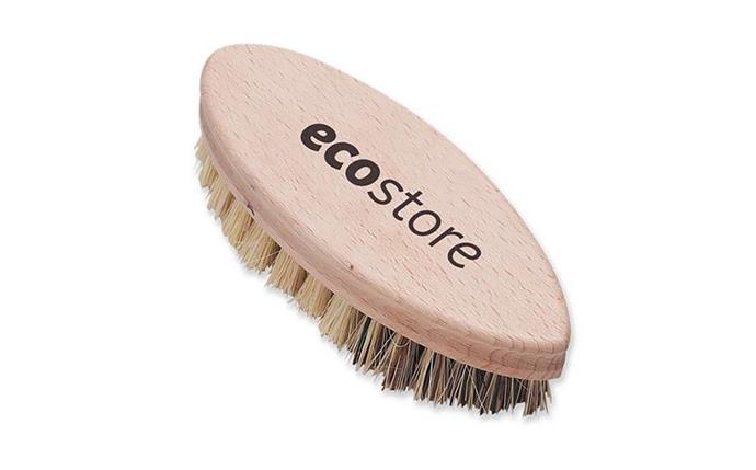 "ECOSTORE vegetable scrubbing brush, $14, at [Designstuff](https://www.designstuff.com.au/ecostore-vegetable-scrubbing-brush|target=""_blank""
